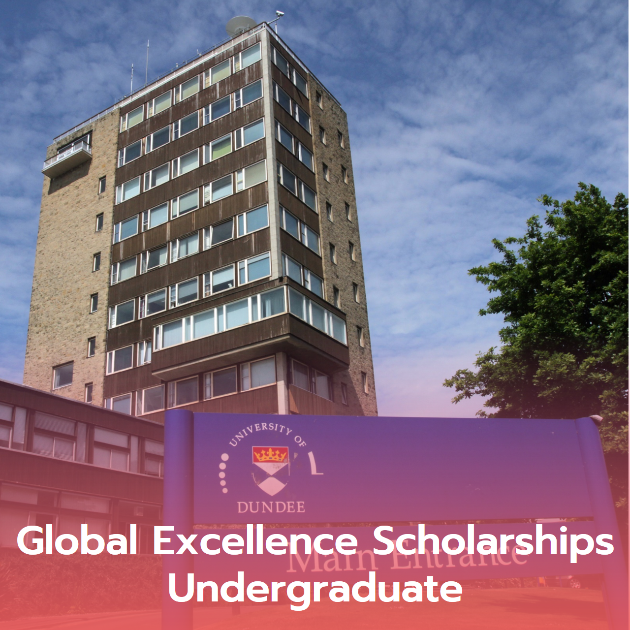 Global Excellence Scholarships Undergraduate