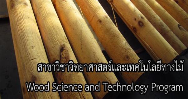 สาขาวิชาเทคโนโลยีผลิตภัณฑ์ไม้และกระดาษ คณะวนศาสตร์ มหาวิทยาลัยเกษตรศาสตร์