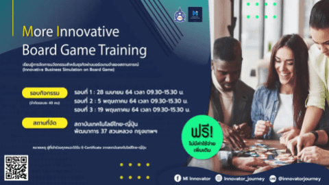 More Innovative Board Game Training